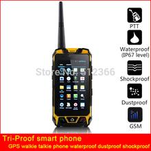 2015 new GPS walkie talkie phone waterpoof portable GSM 3G mobile phone intercom phone