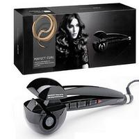 Free ship Black Automic Curling Irons Dual Voltage Euro Plug Hair Curling Tool(BABU2665U)