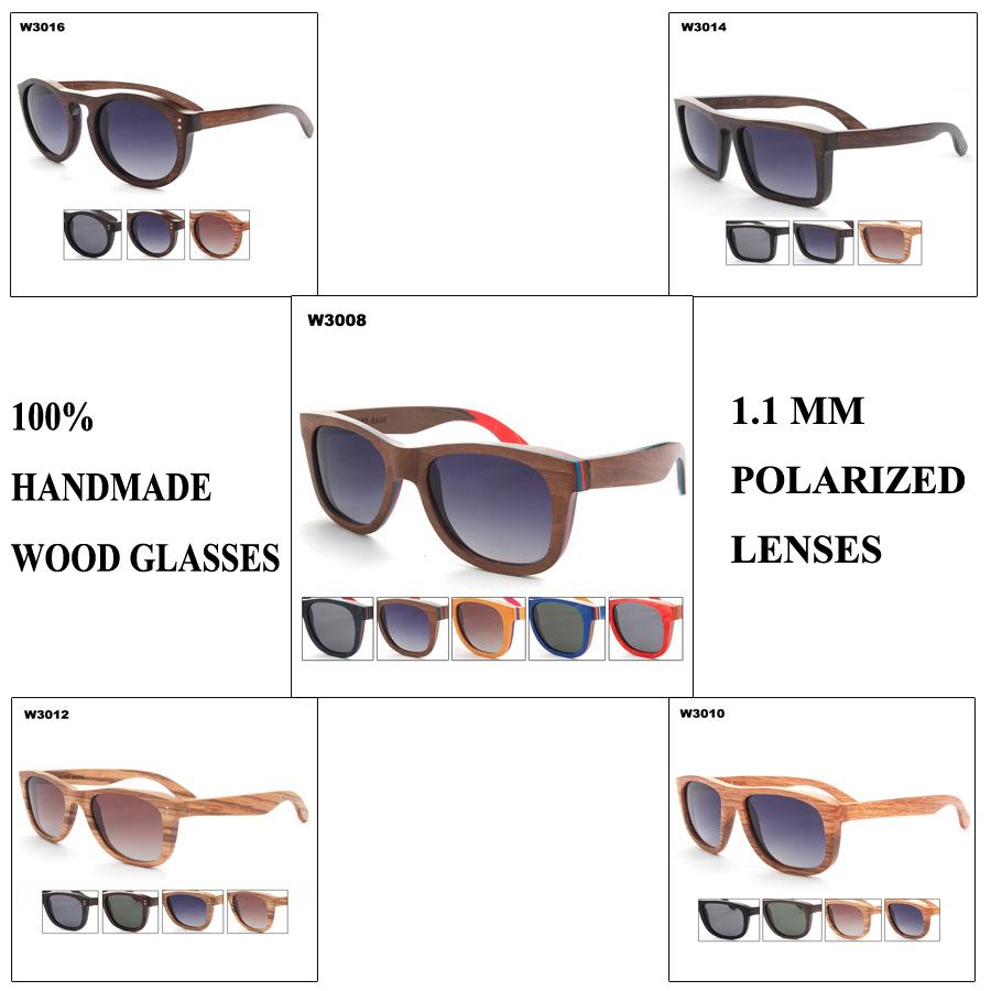 Женские солнцезащитные очки OEM  WOOD недорого