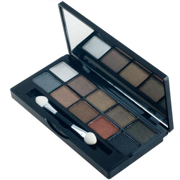 Dropshipping 10 Color Eyeshadow Makeup Palette Cosmetics Eye Shadow Set(China (Mainland))