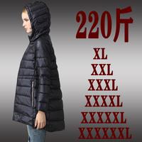 2015 Fashion women plus size clothing jacket plus size fat mm winter  medium-long down coat9S-6XL)