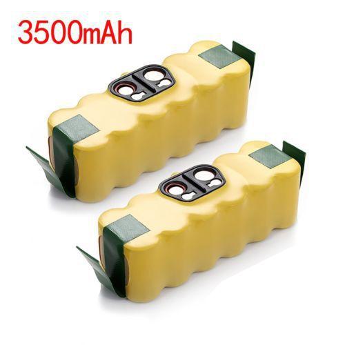 2x 3.5Ah 14.4V NIMH Battery For iRobot Roomba 530 510 500 600 700 Vacuum Cleaner(China (Mainland))