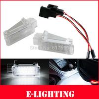 2pcs No Error LED Courtesy Footwell Glove Box Door Light for Porsche 955 957 Cayenne 987 997 RUF