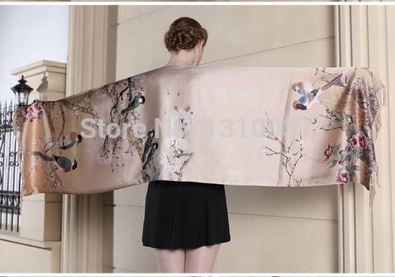 silk pashmina scarf(China (Mainland))