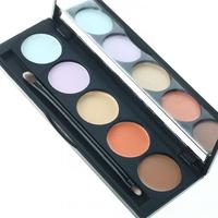 2015 New 5 Color Concealer Palette Camouflage Makeup Beautiful Portable Case