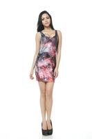 2015 new European style plus size Fashion party Vest dress women fashion summer dress sexy sleeveless