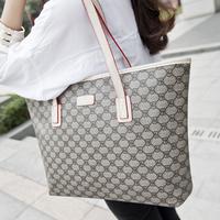 2015 women's handbag fashion vintage big bag fashionable casual women's handbag shoulder bag