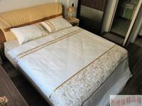 100% cotton embroidered European style 1pcs 200x230cm quilt cover + 2pcs pillowcase 50x75cm white