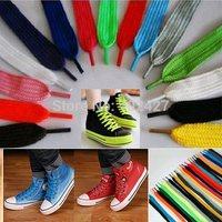 "Wholesale Lots 10pairs Flat Colored Shoelace Athletic Sport Sneaker Shoelaces 51"" 16 Candy Colors! Flat Shoe Laces"