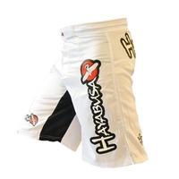 2015 Hot man new brand MMA Shorts Boxing Trunks black white color Arts Muay Thai shorts fight gear M-XXXL size