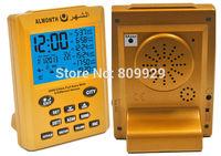 30pcs/lots Hotsale high quality Muslim Islamic 2000 city Praying Azan Clock time Athan Adhan Qibla Salah Prayer