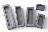 Graphite Casting Ingot Mold Gold Silver Melting Casting Metal Furnace 55*37*20mm