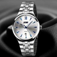 2015 Men's Watch Full Steel Quartz Watch Men's Casual Fashion Elegant with Calendar The 30m Waterproof Men Business Watch Time-5