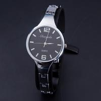 Relojes Wristwatches 2015 Fashion Ladies Watches Alloy Case Quartz Watch Stainless Steel Bracelet Watch Women