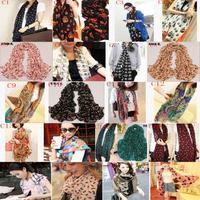 Chiffon silk women scarf    summer and autumn  long women scarves shawl
