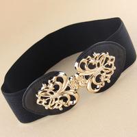 hollow wide elastic waistband cummerbunds  for women  women wide belt