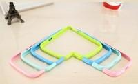 New!1set(2parts) PC Bumper Bumper Frame Case Cover For Samsung Galaxy S3 i9300 S4 I9500 S5 I9600 Double color combine