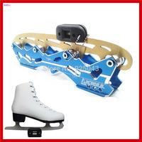 New Universal Micro Portable Diamond Ice Skate Blade Sharpener Ice Skating Blade Coarse/Fine Sharpener