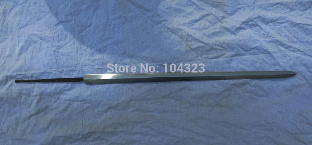 Katana Blade Blanks Feather Steel Blank Blade