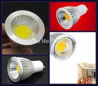 50Pcs/lot Energy Saving LED 7W Led Cob GU10 Soft Spotlight With Epistar Cob Lamp dimmable L24