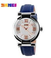 2015 New Female Watches Elegant The 3ATM Waterproof Genuine Leather Fashion Bracelet Quartz watch Watch Student 5 Cores- 02-5