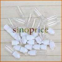 50PCS 10ml Transparent Empty Squeezable Lab Solvents Liquid Dropper Bottles  Free Shipping
