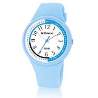 [Free Shipping] Xonix women's girls fashion brief child waterproof watch pl-a
