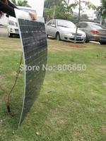 100w semi flexible solar panels, 100watt portable  mono solar modules & Free shipping# *