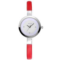 Luxury Brand Women Dress Rhinestone Watches fashion casual quartz Thin leather strap high quality wristwatches relogio feminino