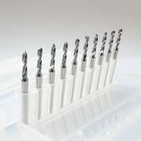 Free Shipping 10pcs Carbide PCB Dremel Jewelry Micro Drill Bits CNC 2.1mm