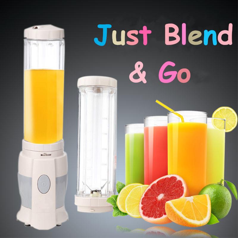 Novo Design multifuncional portátil MINI fruta Smoothie liquidificador batedeira espremedor elétrico máquinas de suco copo ginásio ao ar livre vi