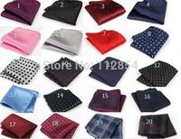 Free Shipping+Wholesale Men's Fashion Print Pocket Square Hankerchief Wedding Party Hankerchief,300pcs/lot