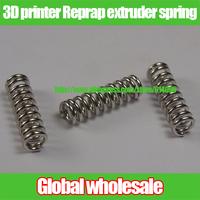 40pcs 3D printer accessories Reprap extruder spring / 1 * 6 * 20 mm steel spring for 3D printer extruder part