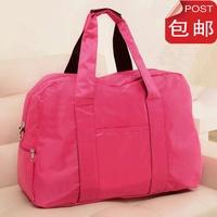 Nylon super large capacity travel bag handbag luggage sports gym bag one shoulder cross-body bags female
