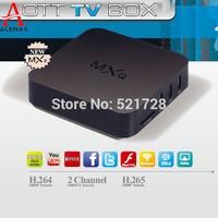 5pcs/lot Original ACEMAX MXQ Amlogic S805 Quad Core KODI TV Box Android 4.4 Kitkat H.265 WifiMiracast Airplay HDMI 1G RAM 8G ROM