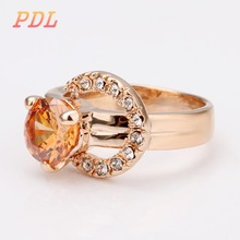 PDL Brand lord of the rings beautiful girl tungsten ring for women white gold wedding rings