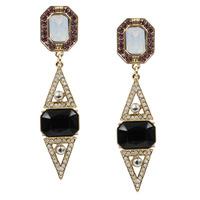 2014 New Arrival statement long stud Earrings for women girl party fashion earring