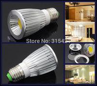 300Pcs/lot 9W COB LED Lights Spotlight E27 Bulb Lamp AC85-265V Support Dimmable Warm White/Cool White L27