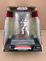 Star Wars  Red Clone Trooper Series Titanium Diecast Figure
