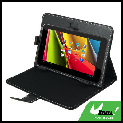 """7"""" Android Tablet PC Faux Leather Case, Compatible with 7 inch 16:9 tablet PC, free shipping!(China (Mainland))"""