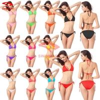 2015 Cheap Transparent Women Girls Bikini  Ladies Brand Swimsuit