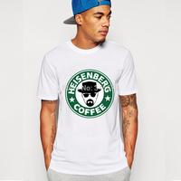 Breaking Bad T Shirts Men Short Sleeve Cotton Man T-Shirt Heisenberg Mens tshirt Tops Tee Shirt Euro Size