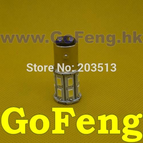 Задние поворотники GFG 50pcs/lot 20SMD 1157 bay15d 5630 20 SMD