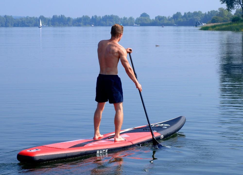 доска для плавания стоя с веслом своими руками