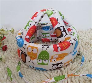 Baby Kids Walking Safety Helmet Headguard Head Protector Hats No Bumps Adjustable Warm Caps Hats 2015 New(China (Mainland))