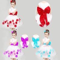2015 Brand Kids Baby Girls Princess dress cartoon cosplay girl dresses,kids princess dress