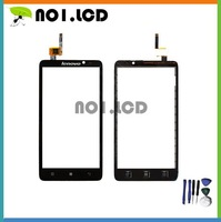 High quality Black  touch panel Lenovo S890 touch screen digitizer replacement for Lenovo S890 phone free shipping
