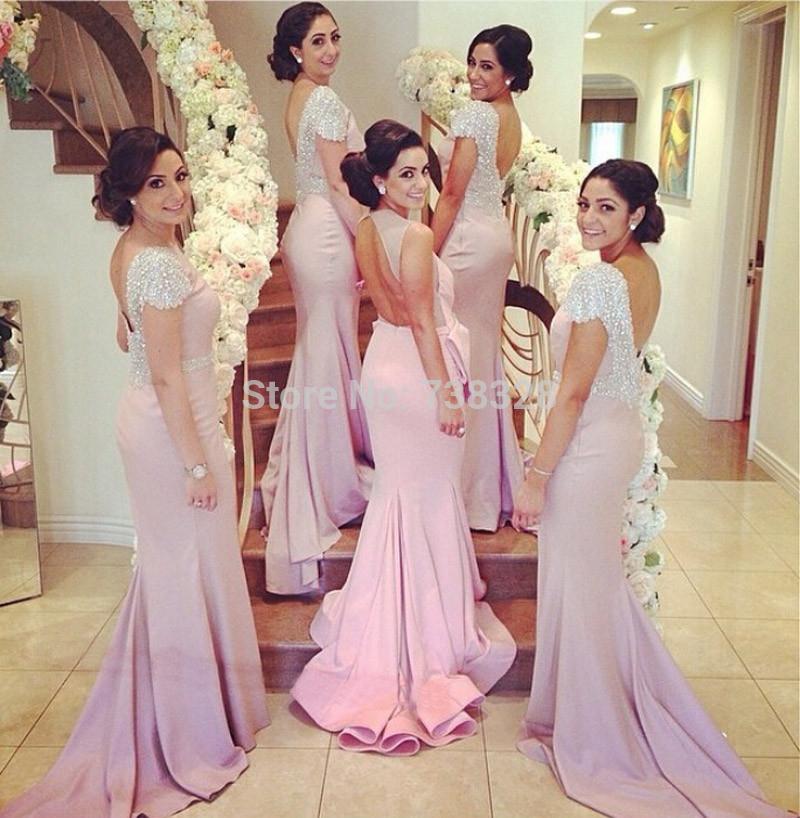 Платье для подружки невесты Ilovewedding Capped 2015 Vestido BD076 платье для подружки невесты yy vestido lfb93