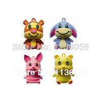 Personage flash drive of Chinese auspicious zodiac donkey usb Flash Drive U disk Thumb pen  drive S204