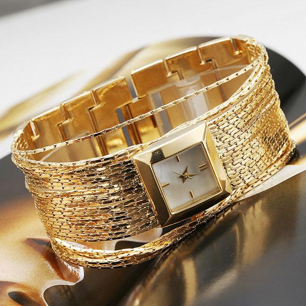 Hot Sale 2014 New Luxury Brand GS Fashion Women Bangle Dress Watches Ladies analog quartz Casual Bracelet Gold Clock Female(China (Mainland))